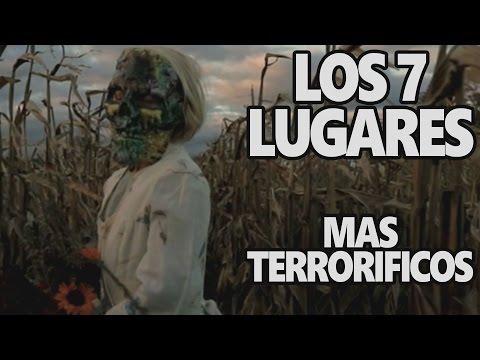 7 Lugares Escalofriantes Del mundo parte 1 Documental
