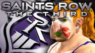 Saints Row 3 - Character Creation Robbaz Commentary Initation Station Gameplay
