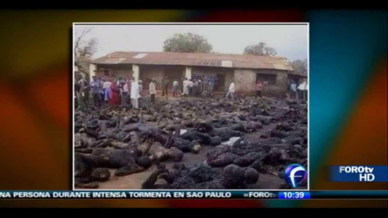 Queman Cristianos en Nigeria 2012 Queman a Cristianos Vivos en