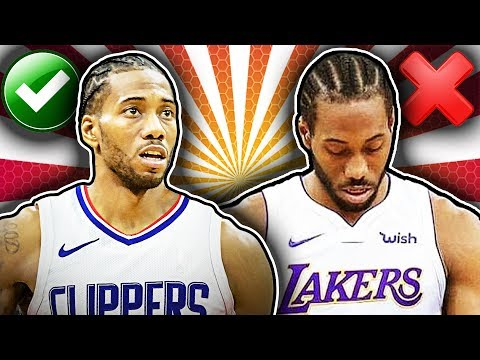 SOURCES: Kawhi Leonard Doesn't Want To Join The Lakers