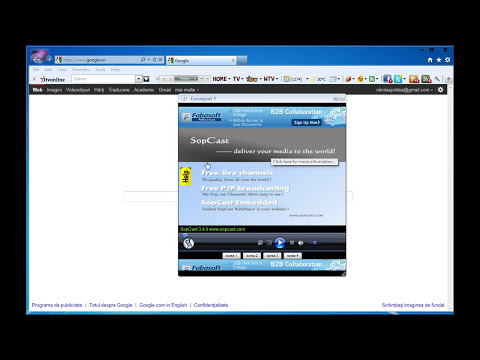SOPCAST toolbar tv online (tutorial romana)