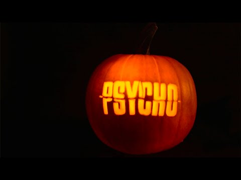 Alfred Hitchcock's Psycho: Pumpkin Stop Motion of the Shower Scene