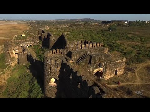 Aerial View of Rohtas Fort - Jhelum - Pakistan
