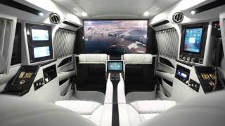 2016 Cadillac Escalade Sky Captain Piano Edition Mobile Office  by Lexani Motorcars