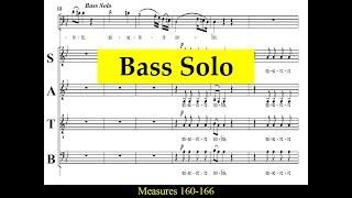 Haydn - Mass in D minor - 2b - Qui Tollis - Bass Solo