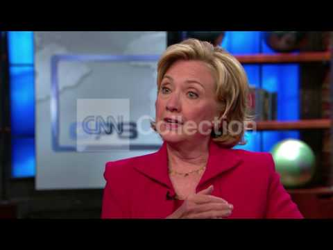 HILLARY CLINTON:PUTIN RESPONSIBLE UP SANCTIONS