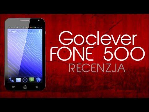 [Mobileo #39] Recenzja Goclever FONE 500   Test PL