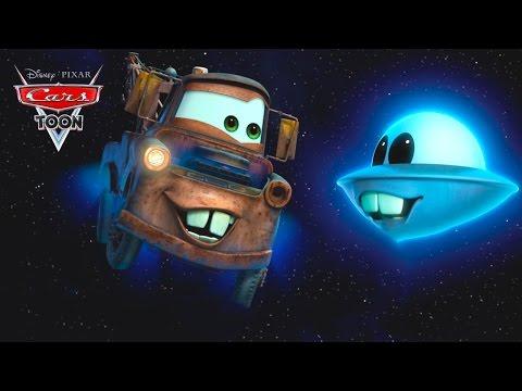 Мультики Про Машинки для Мальчиков. Тачки Мультачки Неопознанный летающий Мэтр и НЛО. Молния МАКВИН