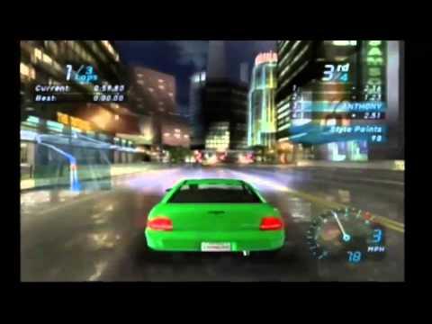 need for speed underground gamecube cheats