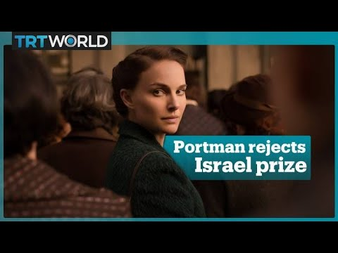 Natalie Portman decides not to attend Israel award ceremony