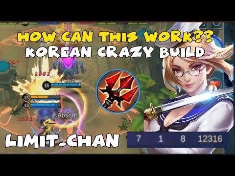 NEW SICK KOREAN FANNY BUILD by Limit.Chan | GLORIOUS LEGENDS RANKED GAMEPLAY (Mobile Legends)