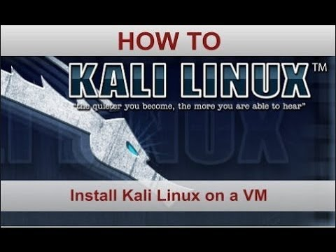 How to install linux kali on Vmplayer 2017 Window and linux mint tutorial