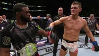 UFC 205: Tyron Woodley & Stephen Thompson Octagon Interview