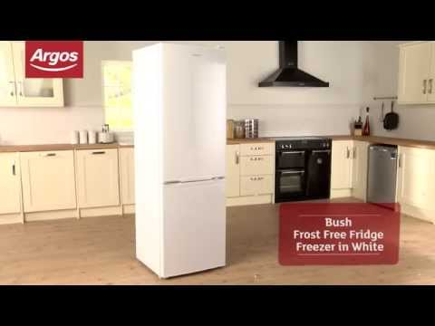 Bush BFFF60185 Frost Free Fridge Freezer In White Review