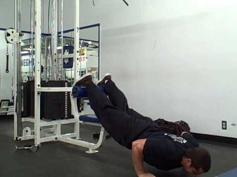 How To Do Incline Push Ups For The Upper Chest - YouTube