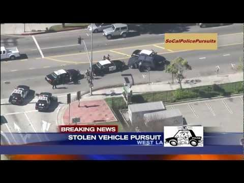 Southern California Police Pursuit - Feb 20, 2013