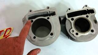 Giant gy6 232cc big bore cylinder for your ruckus or buggy