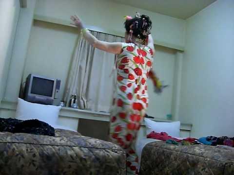 長崎のホテルの小部屋で!