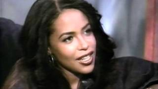 Rare Aaliyah interview pt 1