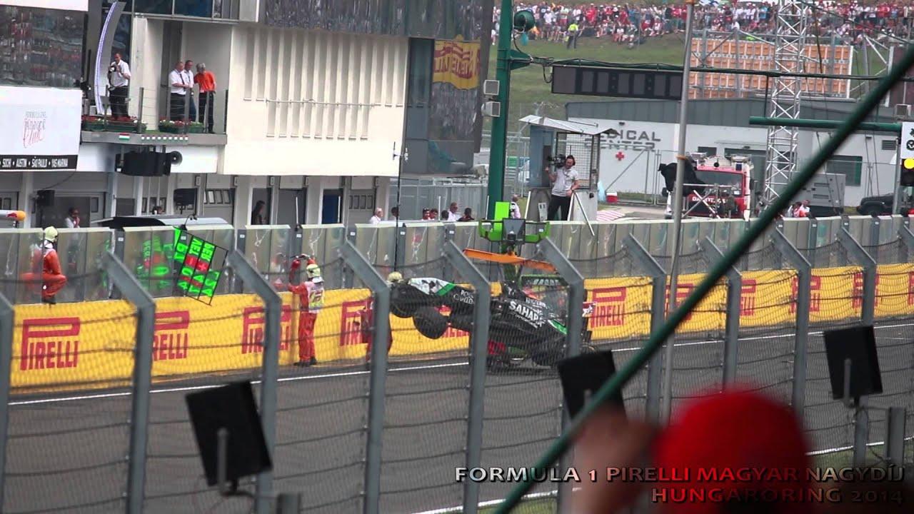 Formula Crash 2013 Sergio Perez Crash / Formula 1