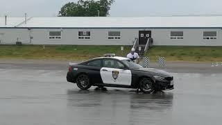 BMW M4 Drag and Drift Demonstration