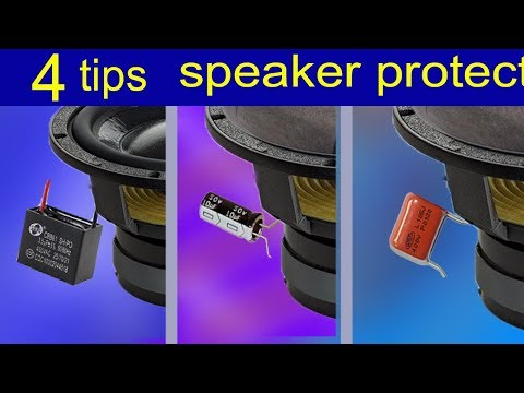 Connect the speakers to the amplifier  4 tips divide the frequency for treble hear better