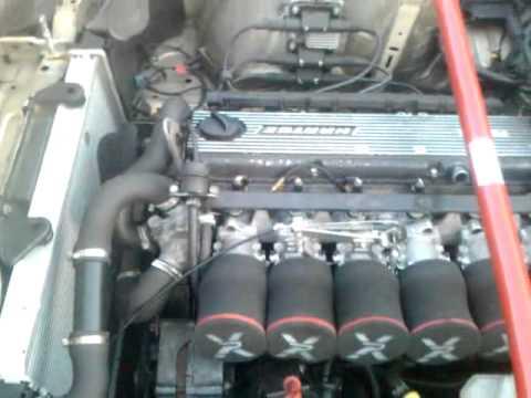 Bmw E30 327i Itb Throttle Bodies Youtube
