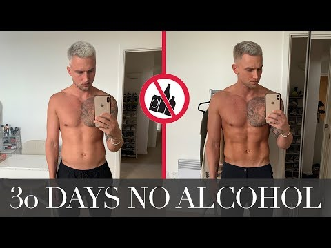 30 Days No Alcohol | The Results Are Mind Blowing