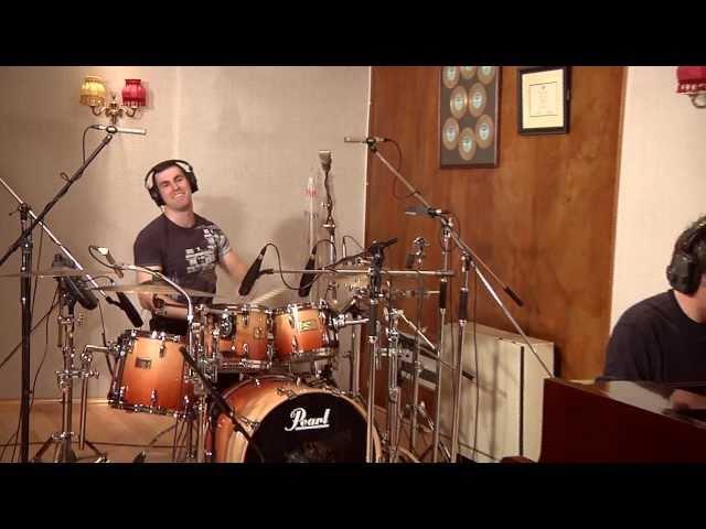 Neil Byrne and Declan O'Donoghue in studio - July 2011