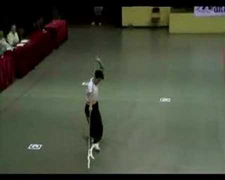 Human Mobile Stage No.19 - HK Wushu Tournament(Silver Medal)