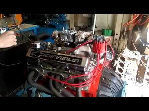Chevy 400 small block first start up after build