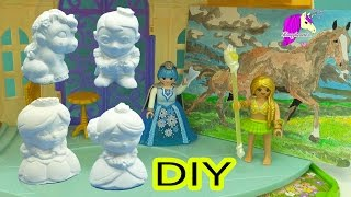 DIY Painting Queen, King, Princess, Frog Prince, Unicorn + Paint By Number Mare & Foal