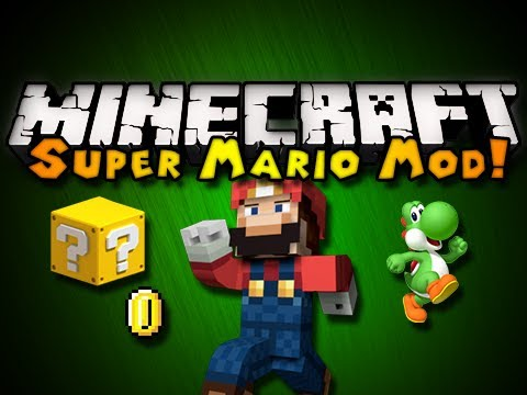 Minecraft: Super Mario Mod - MARIO BLOCKS. YOSHI. SOUNDS. & MORE! (HD)