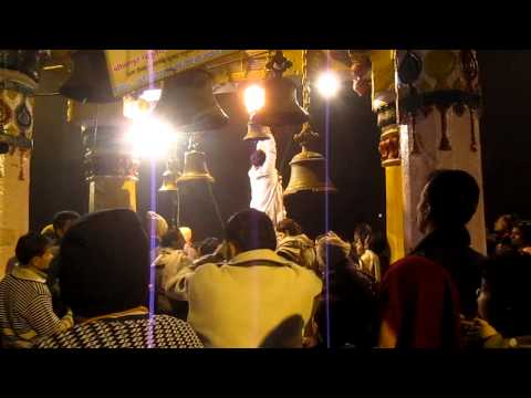 Shri Yamunaji Evening Aarti At Vishram Ghat In Mathura video