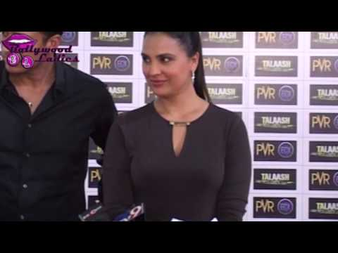 Lara Dutta and Mahesh Bhupathi at Talaash premiere