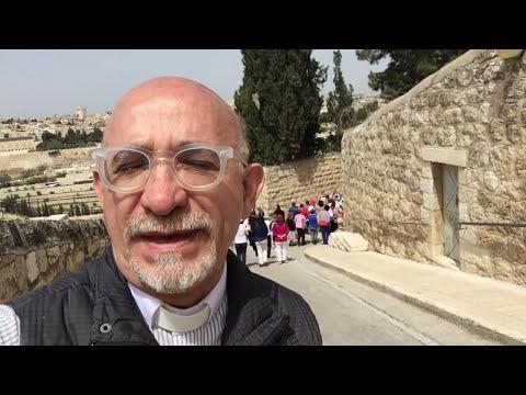 El Monte de los Olivos en Jerusalén