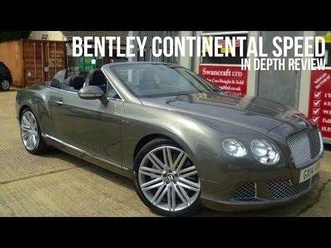 Bentley Continental Gt Speed In Depth Review