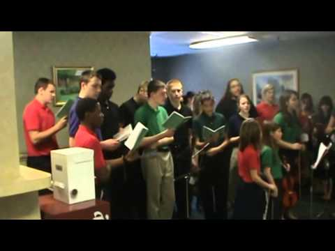 Stedfast Christian Academy caroling 2013 - part 1