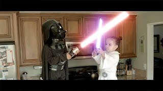 Star Wars Jedi Babies - Episode 8 : The Force Awakens