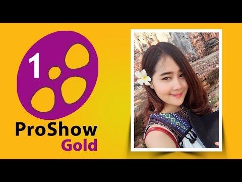 Proshow Gold - ตั้งค่าเบื้องต้น