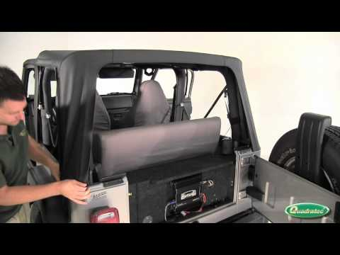 Quadratec QuadraTop Soft Top Installation for 97-06 Jeep Wrangler