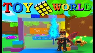 New Toy World | Roblox Blob Simulator (Sorry For Glitchy Video)