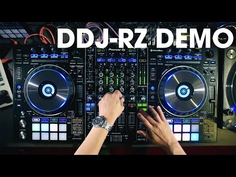 Alex Moreno testing the new Pioneer DDJ-RZ & Rekordbox DJ