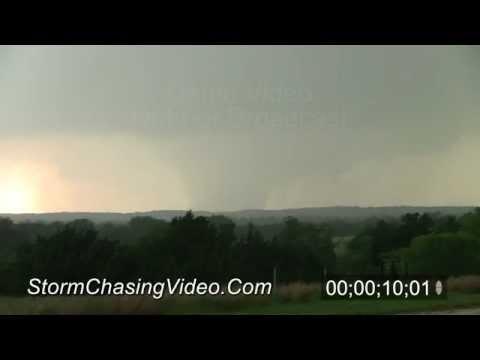 5/24/2011 Wedge Tornado B-Roll footage near Canton, OK