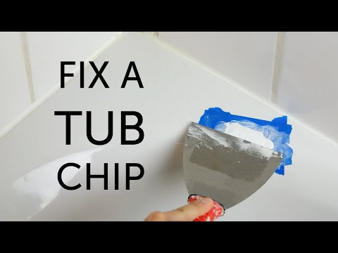DIY Bathtub Repair