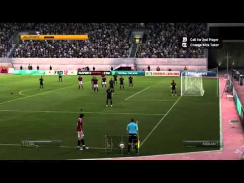 FIFA 12 Gameplay - Real Madrid vs. AC Milan (Full Game + Launch Impressions)