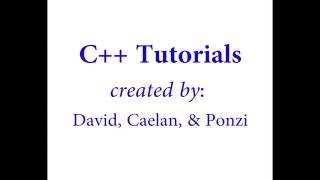 C++ Basics: 1.4 The while loop