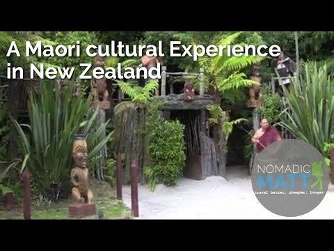 A Maori Cultural Experience in New Zealand