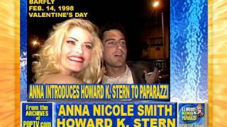 ANNA NICOLE SMITH INTRODUCES HOWARD K. STERN in 1998