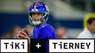 The Daniel Jones Era Begins, NY Giants Bench Eli Manning | Tiki + Tierney